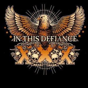 """In This Defiance's tentative album cover for """"Vei Victus"""""""