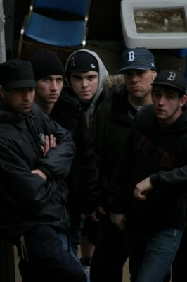 In This Defiance, circa spring 2006. From left to right: Fudd, Steve, Ryan, Ben and Matt