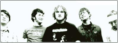 """The Separation Suicide photoshoot taken in early 2003 for the promotion of """"This Conversation"""". Photo by Gordon Ball"""